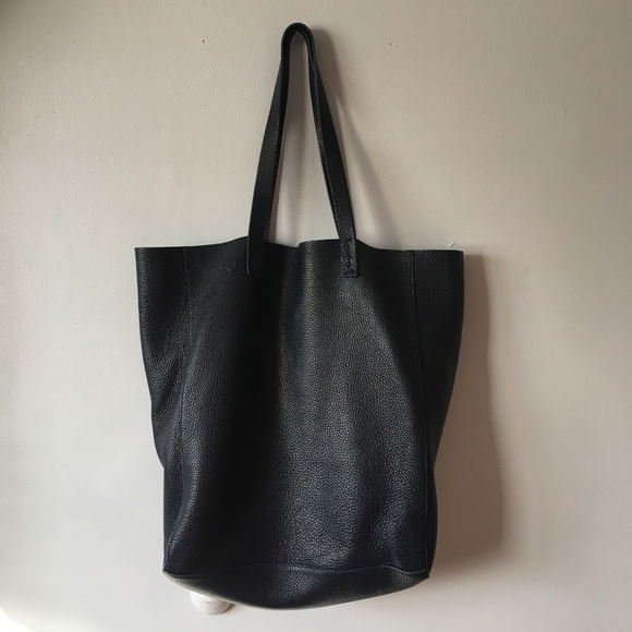 26bc0a533751 La Dolce Vita Bags Bags | Soft Italian Leather Tote Navy Blue | Poshmark